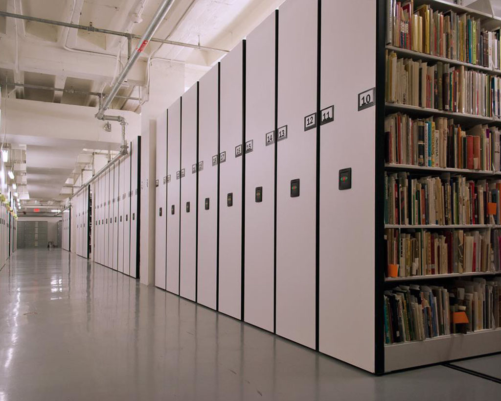 DMG North services archival storage facilities