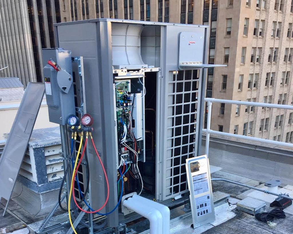 DMG North HVAC repair unit