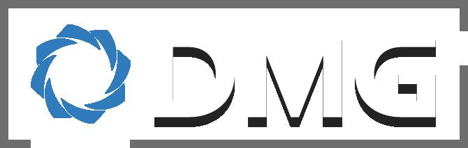 DMG logo with drop shadow