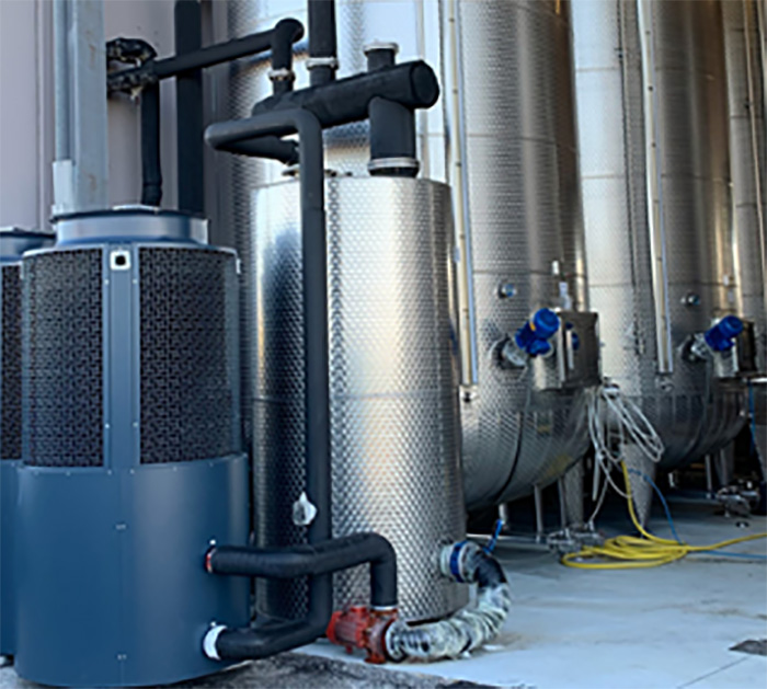 DMG Winery HVAC application